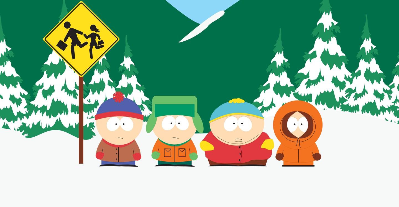 Miasteczko South Park backdrop 1