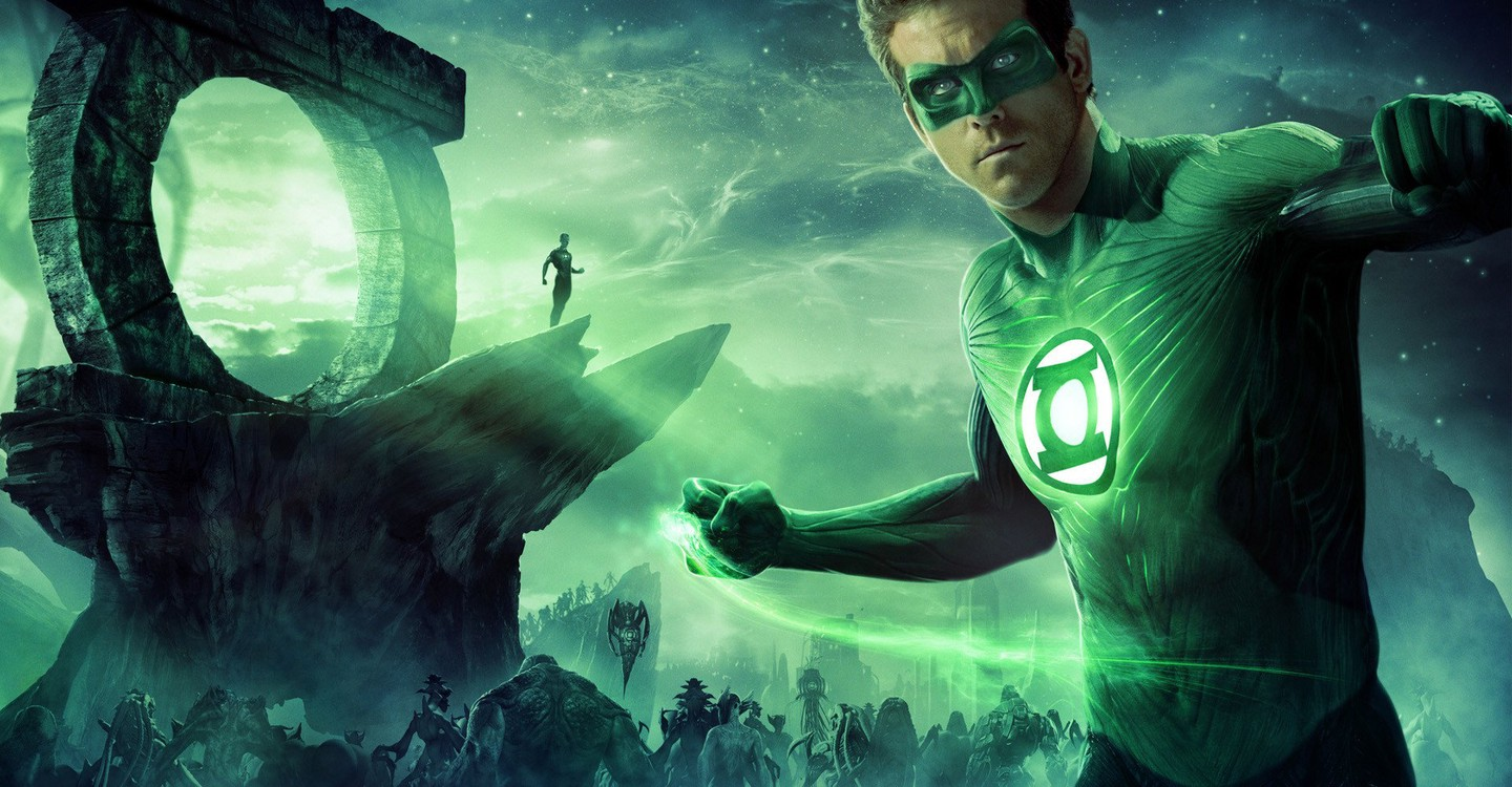 Green Lantern backdrop 1