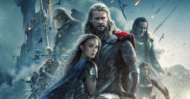 Thor: El mundo oscuro backdrop 1