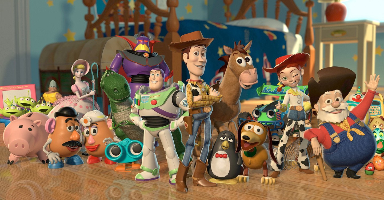 Toy Story 2 backdrop 1