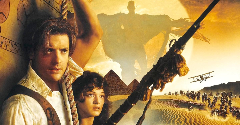 The Mummy backdrop 1