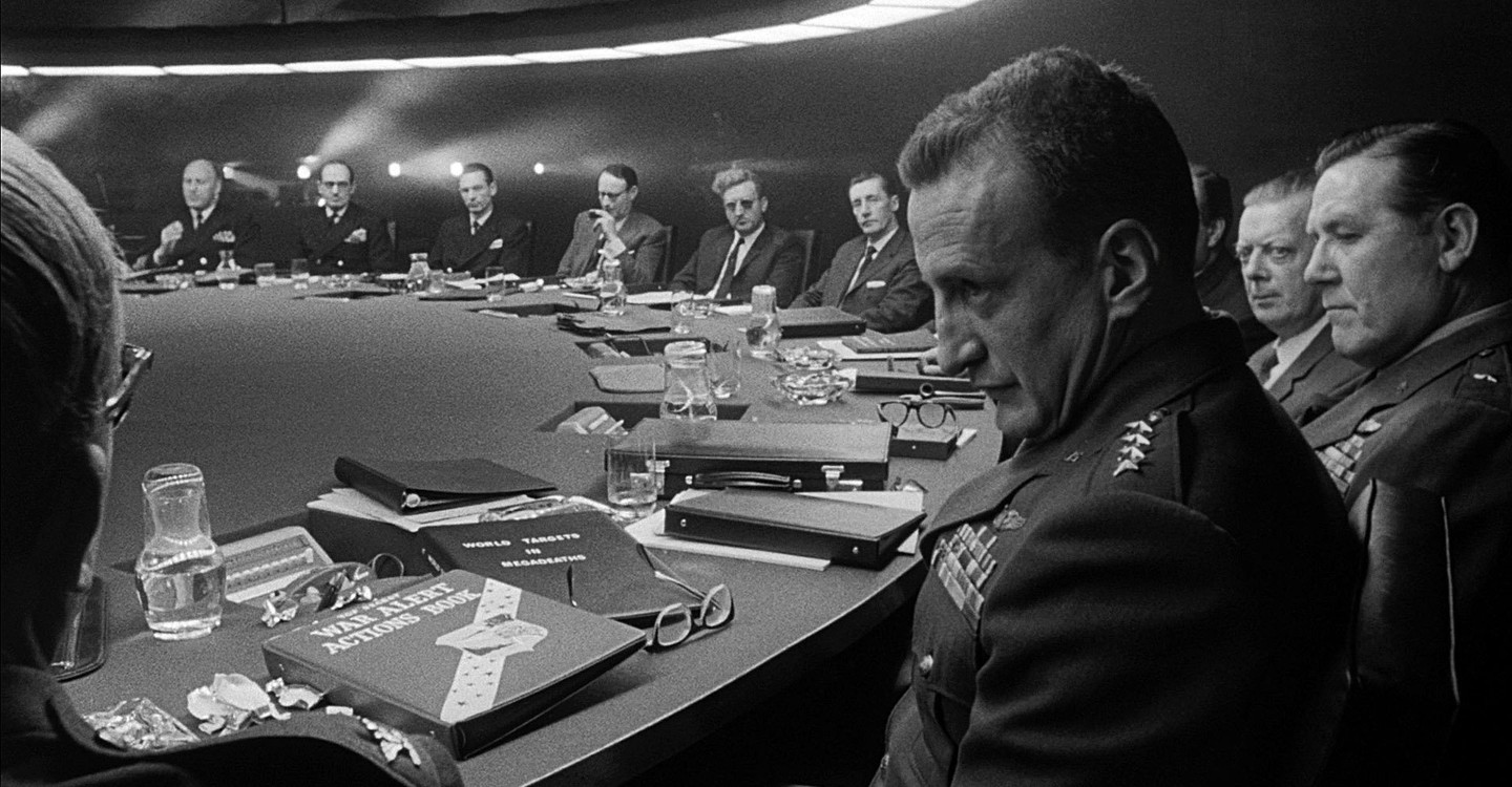 Dr. Strangelove or: How I Learned to Stop Worrying and Love the Bomb backdrop 1