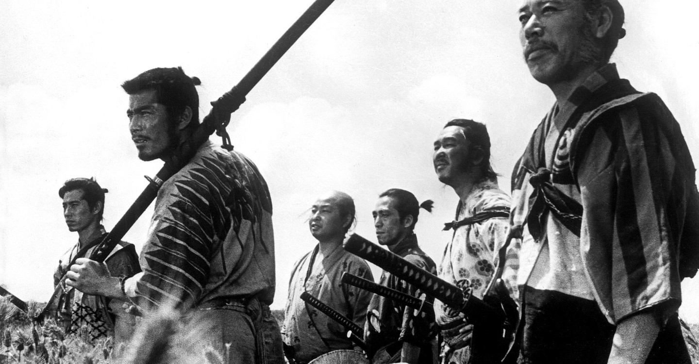Seven Samurai backdrop 1