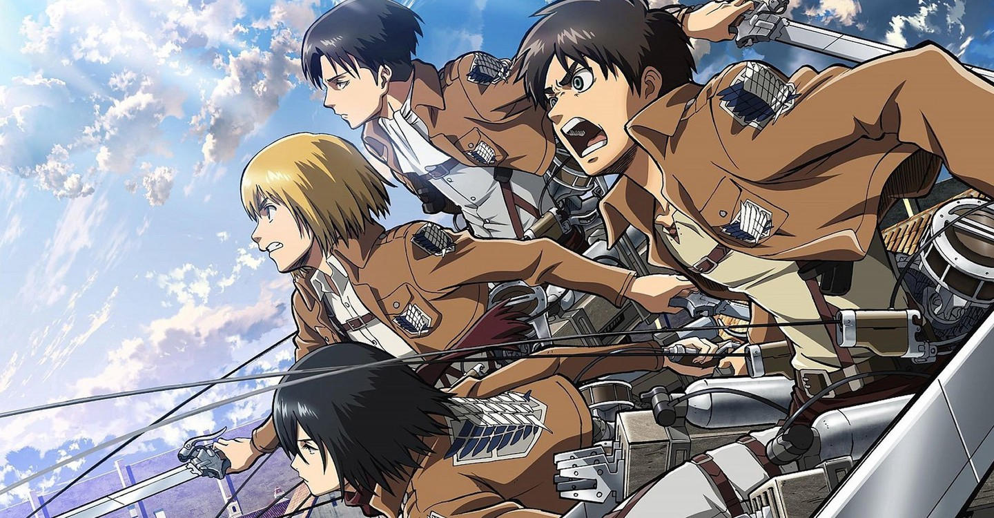 Attack on Titan backdrop 1