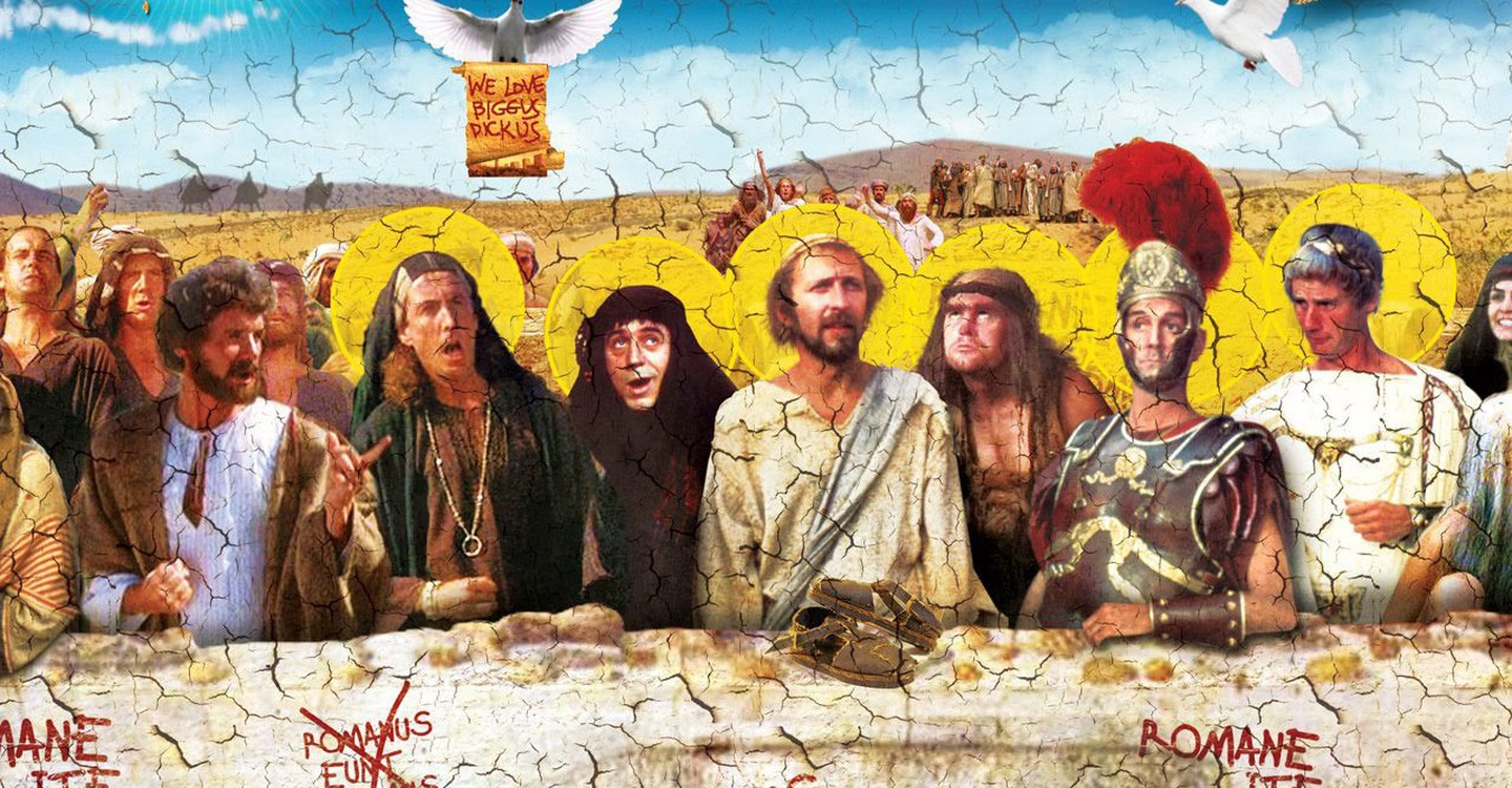 Life of Brian backdrop 1