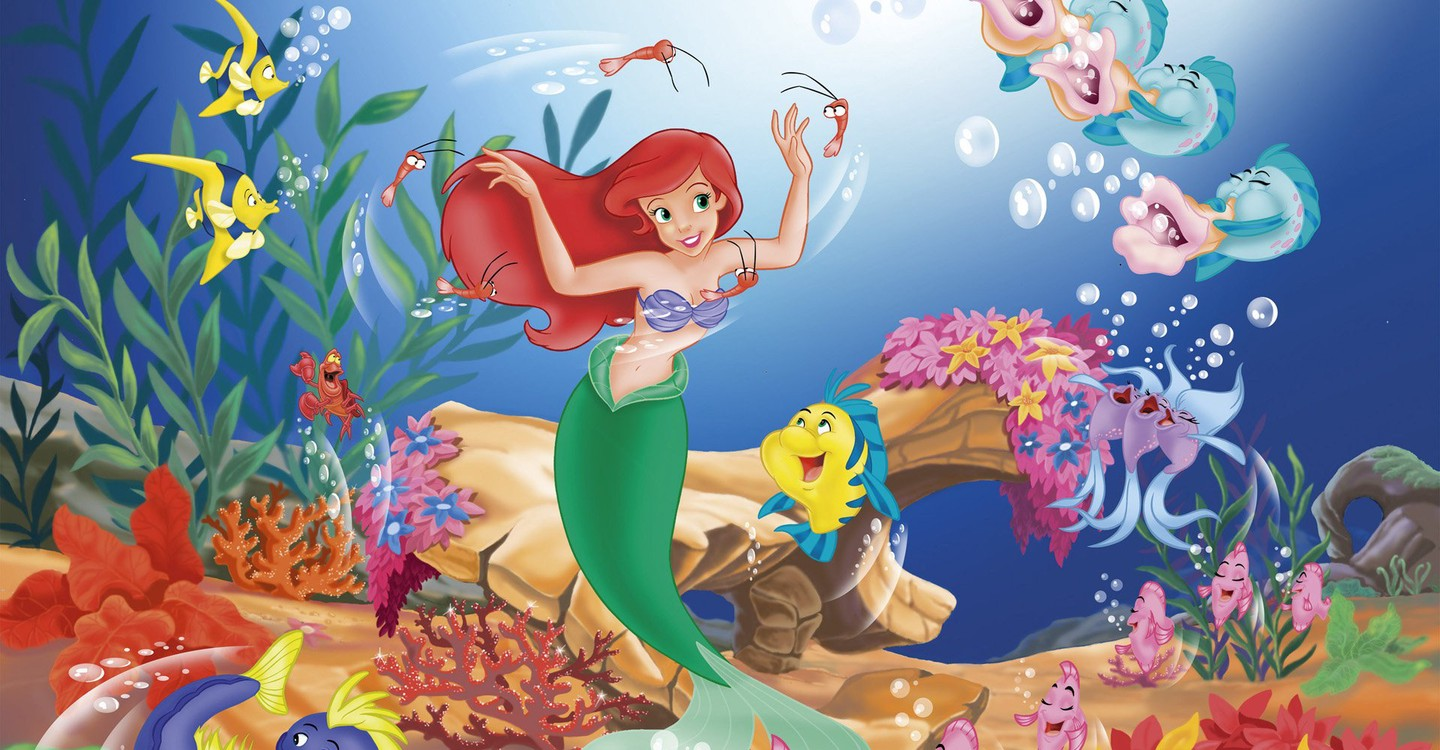 The Little Mermaid backdrop 1