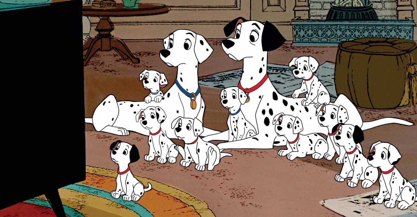 One Hundred and One Dalmatians backdrop 1