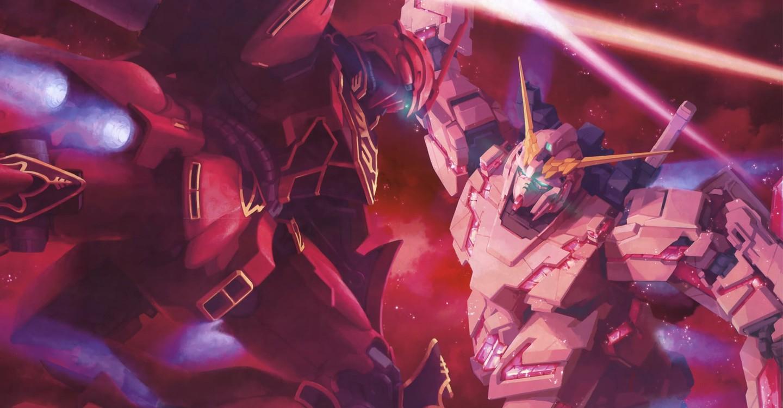 Mobile Suit Gundam Unicorn backdrop 1