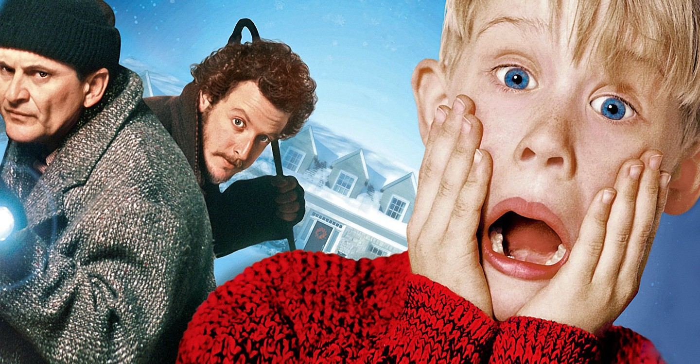 Home Alone backdrop 1