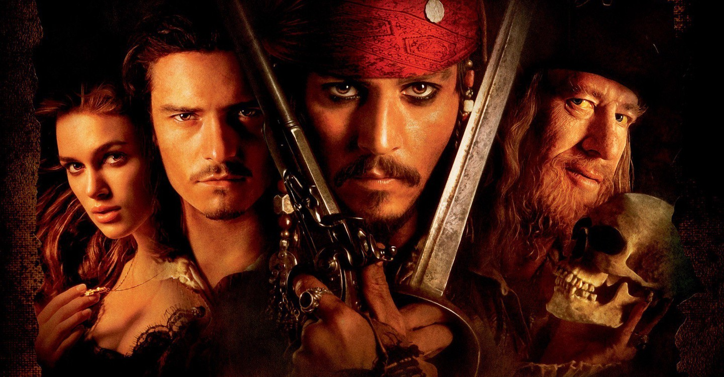Pirates of the Caribbean: The Curse of the Black Pearl backdrop 1