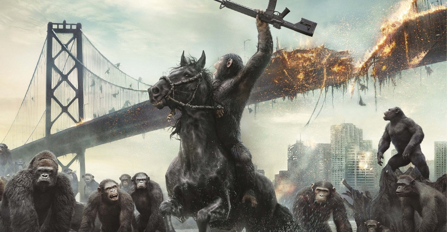 Dawn of the Planet of the Apes backdrop 1