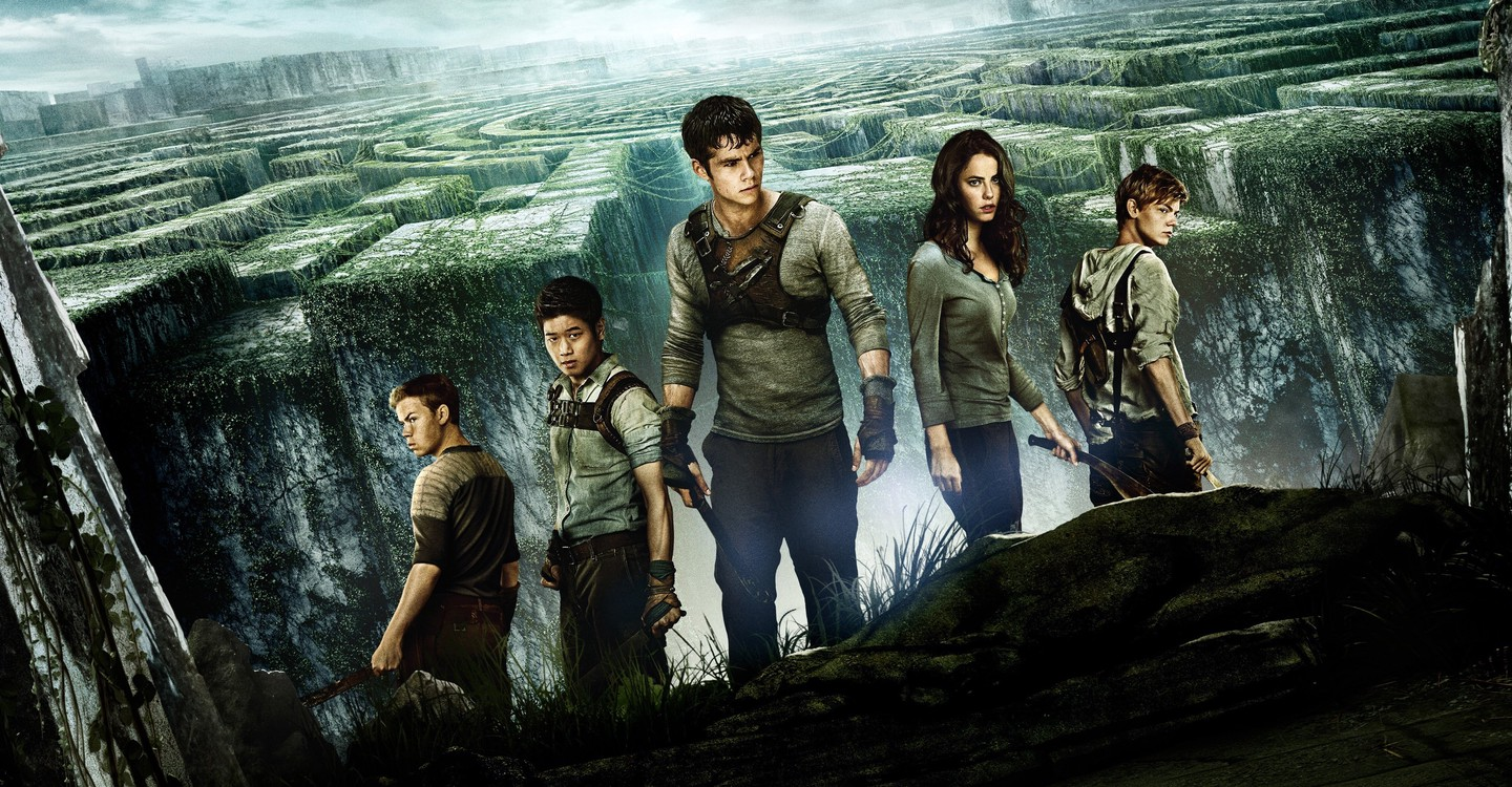 The Maze Runner backdrop 1