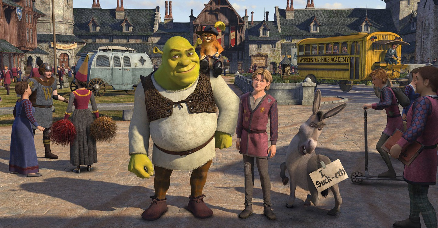 Shrek the Third backdrop 1