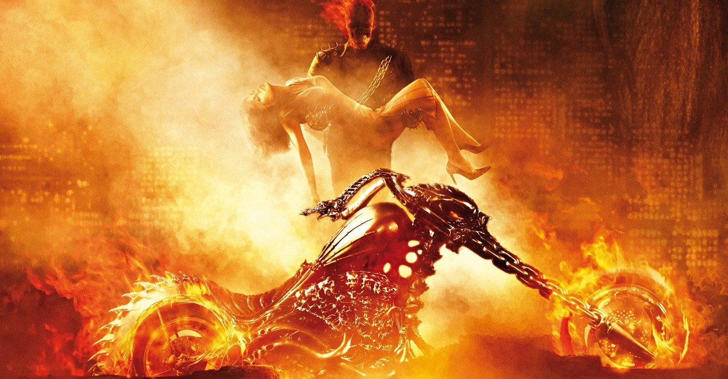 Ghost Rider backdrop 1
