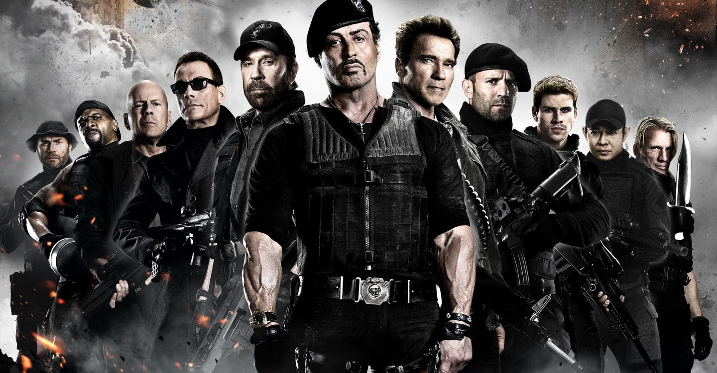 The Expendables 2 backdrop 1