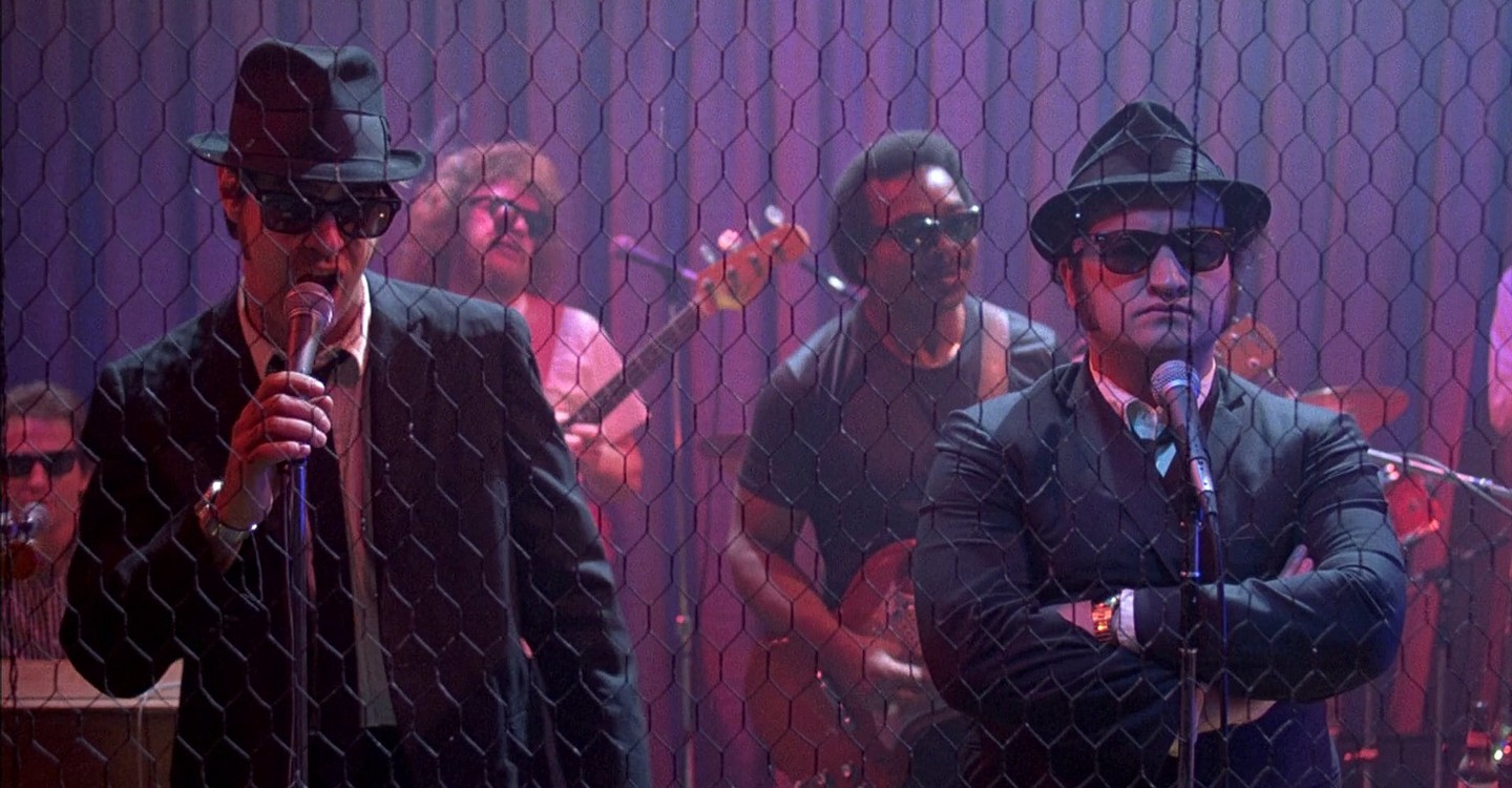 Blues Brothers backdrop 1