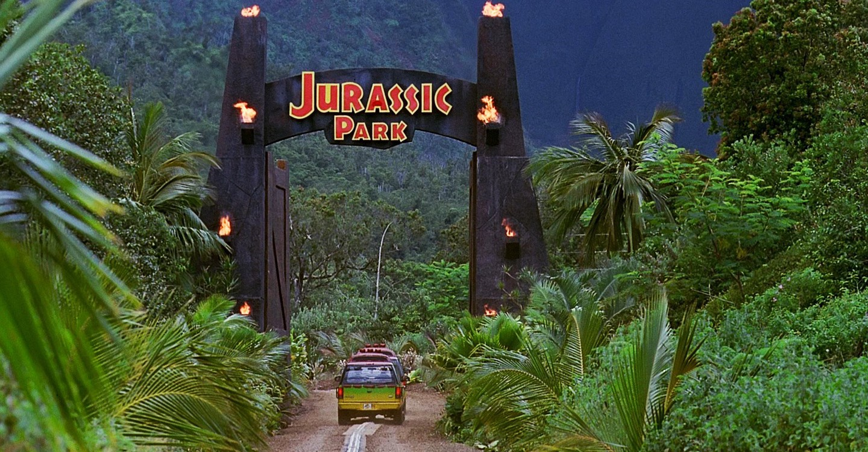Jurassic Park backdrop 1