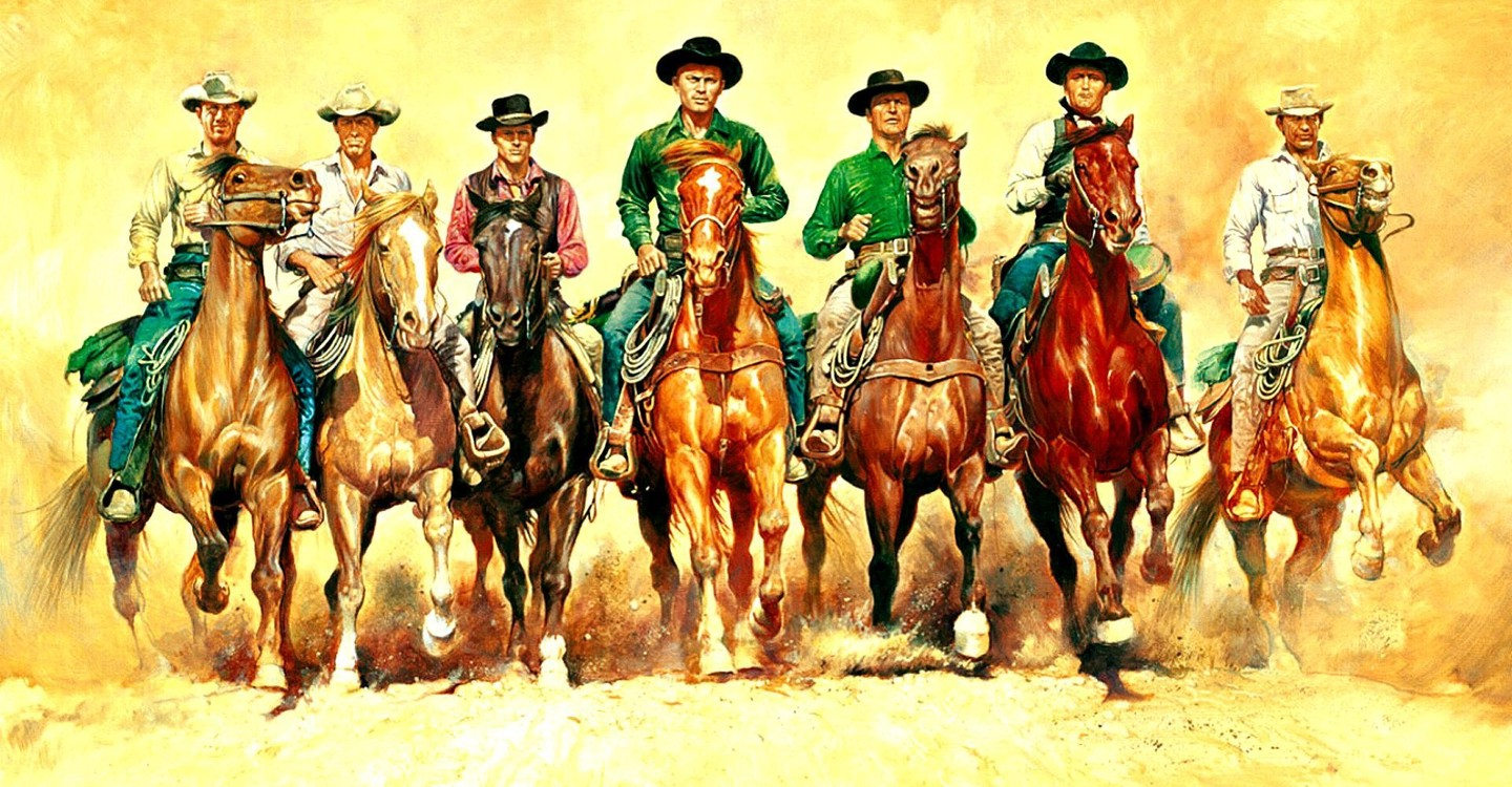 The Magnificent Seven backdrop 1