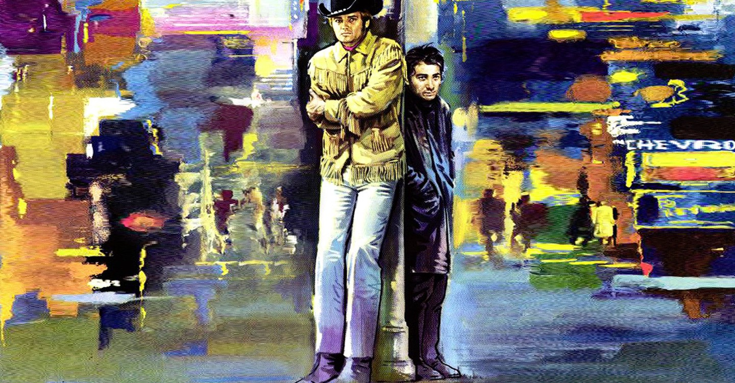 Affiche Midnight Cowboy film Nouvel Hollywood
