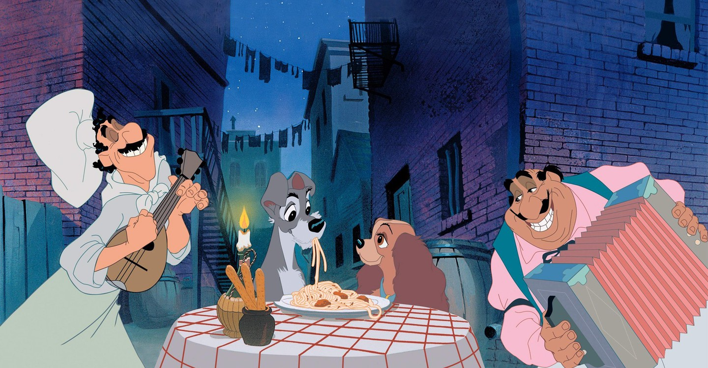 Lady and the Tramp backdrop 1