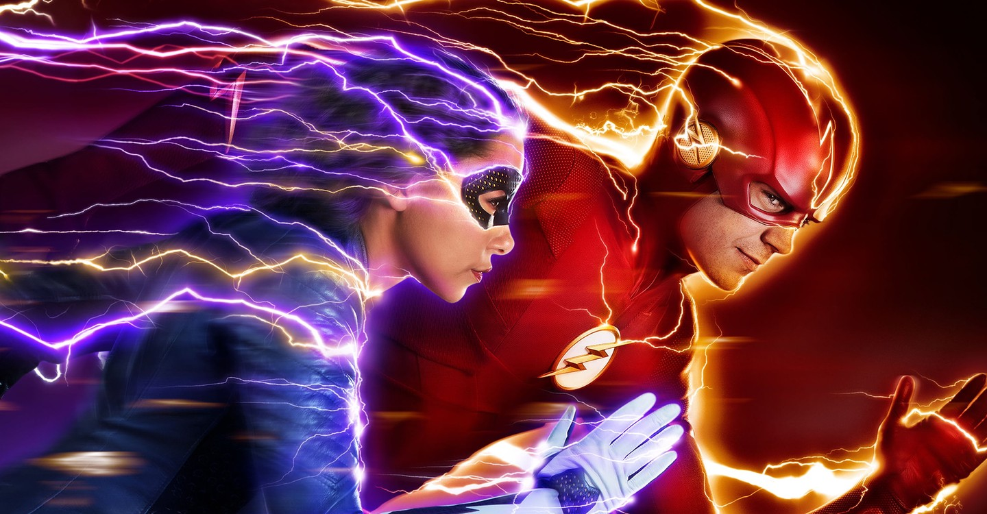 The Flash backdrop 1