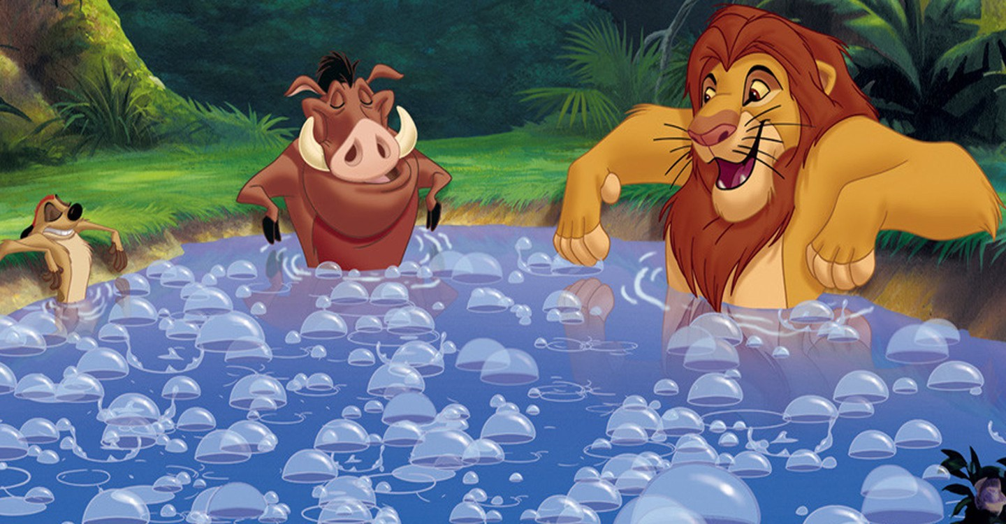 The Lion King 1½ backdrop 1