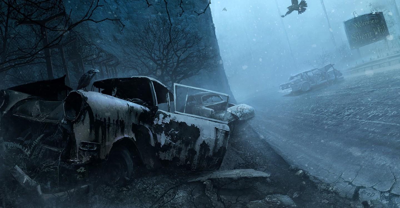 Silent Hill backdrop 1