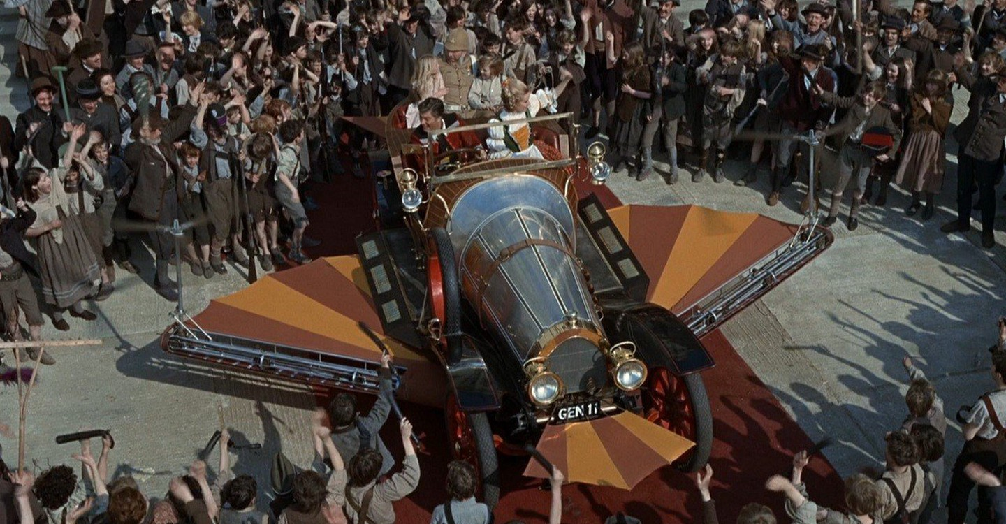Chitty Chitty Bang Bang backdrop 1