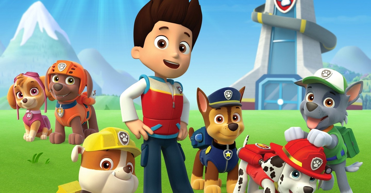 Paw Patrol backdrop 1