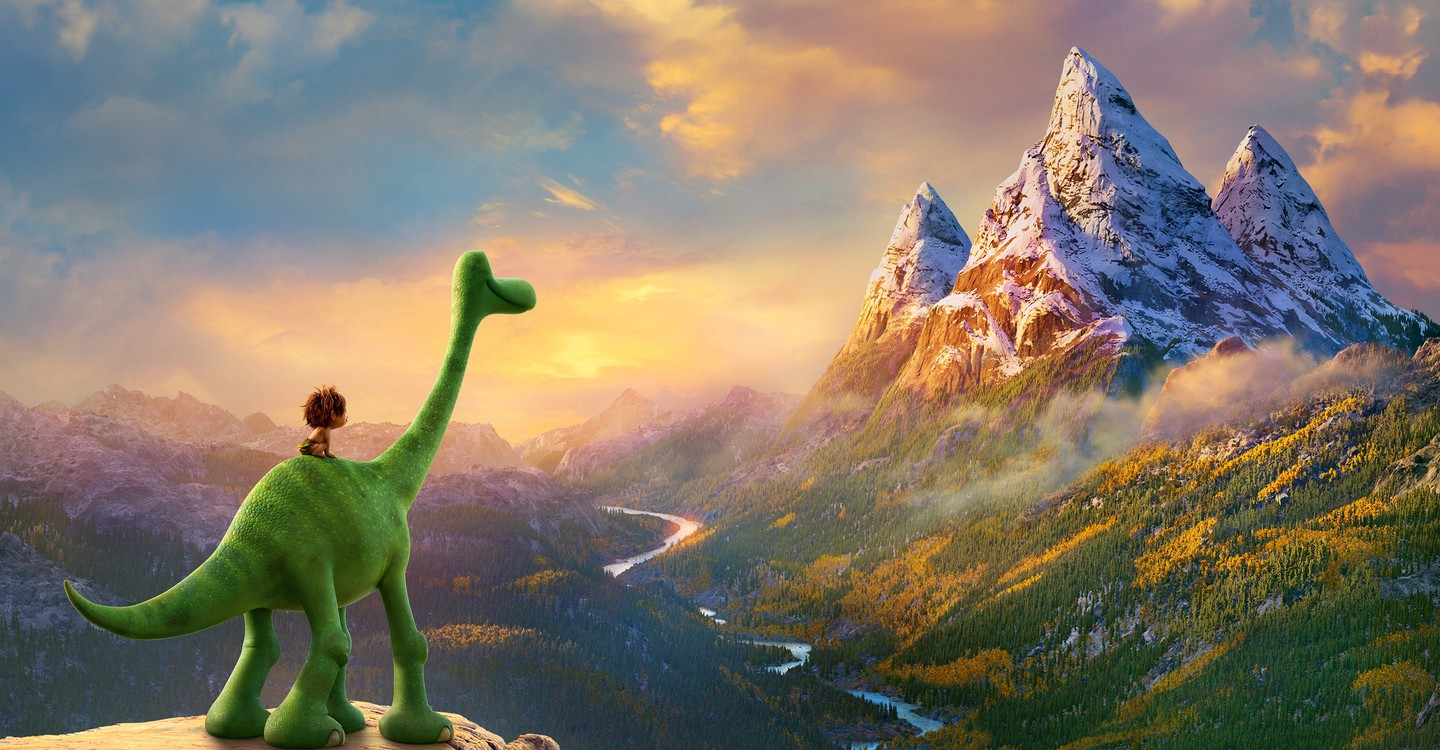 The Good Dinosaur backdrop 1