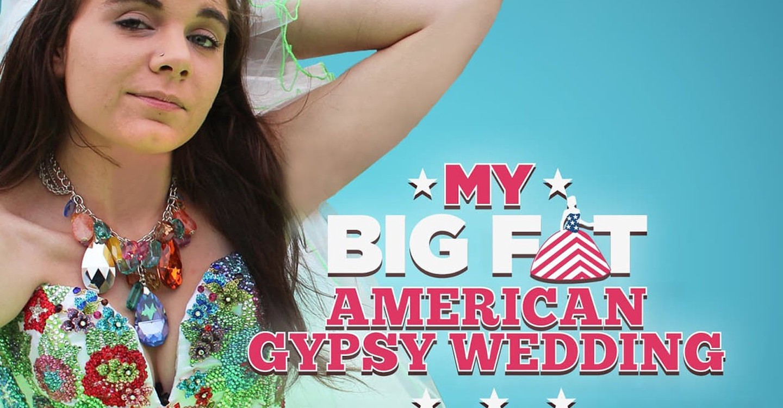 My Fat American Gypsy Wedding Backdrop 1