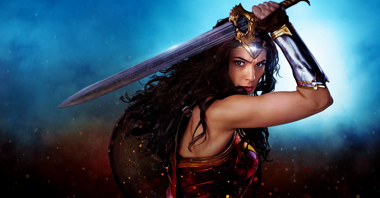 Wonder Woman backdrop 1