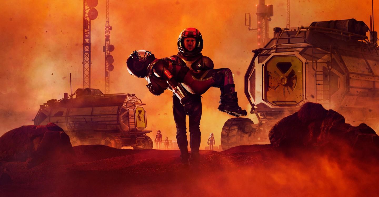 인류의 새로운 시작, 마스 backdrop 1