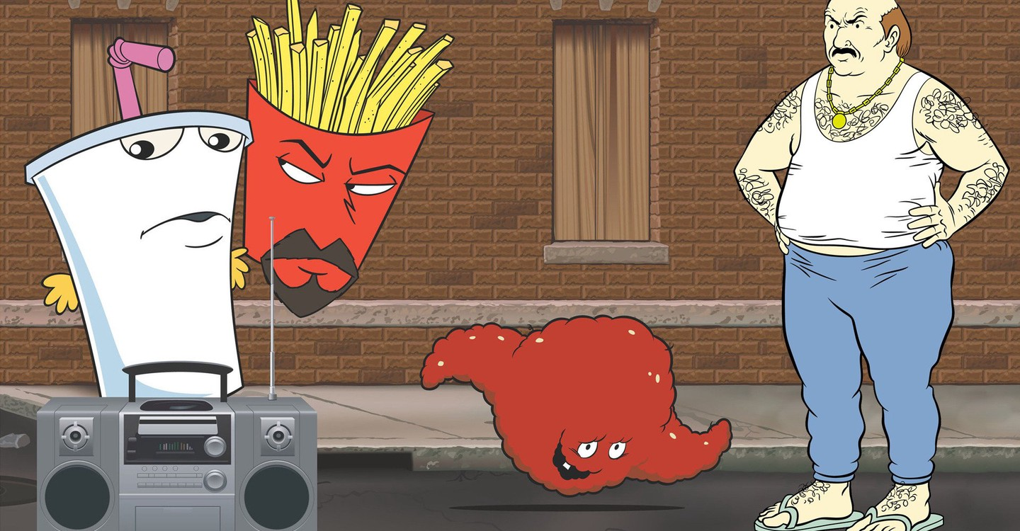 Aqua teen hunger force hypno germs, paul mark gosselaar cock