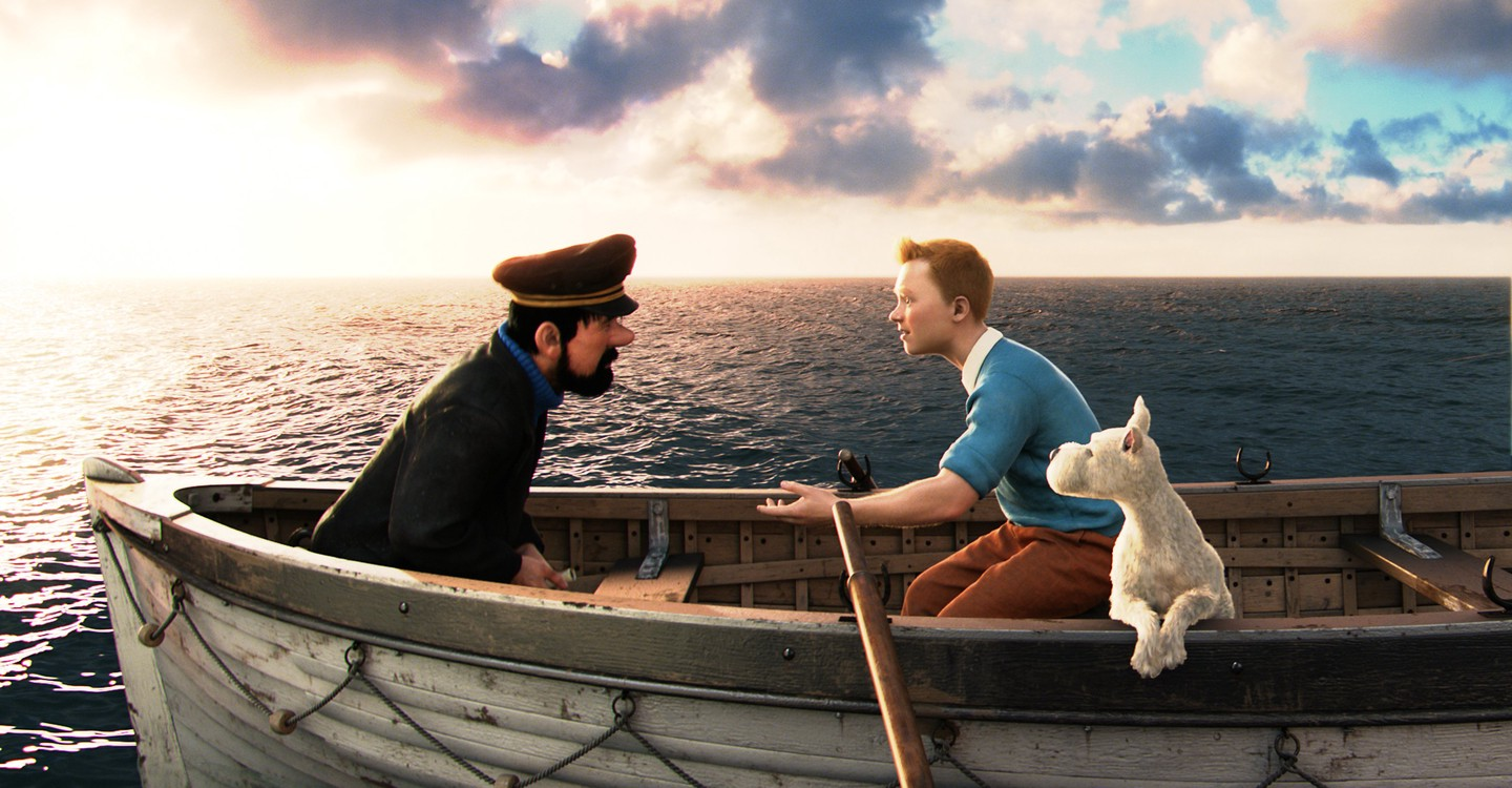 The Adventures of Tintin backdrop 1