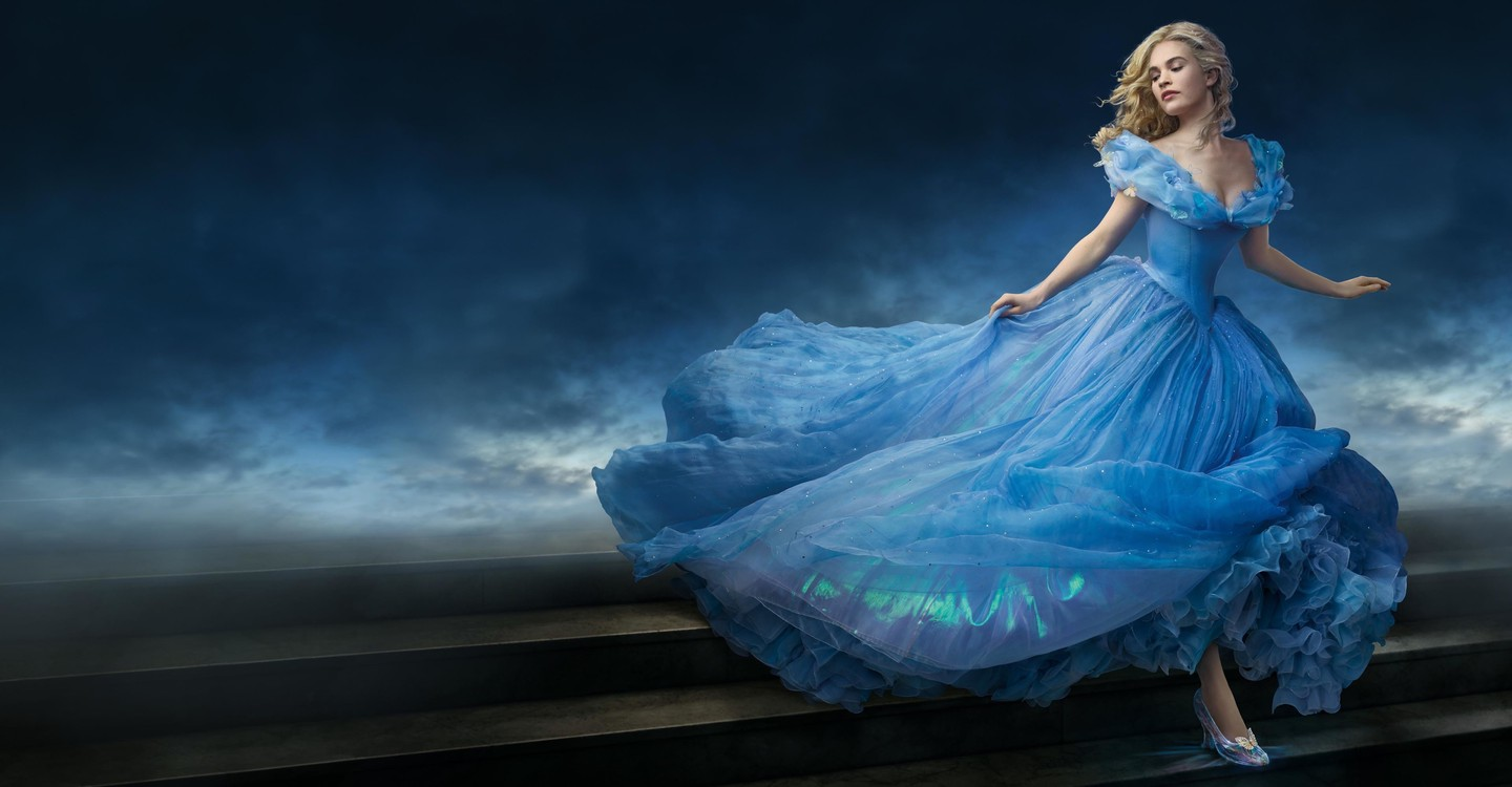Cinderella backdrop 1