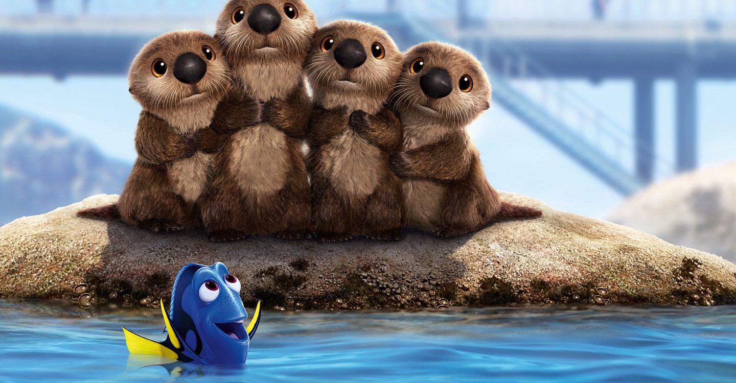 Finding Dory backdrop 1