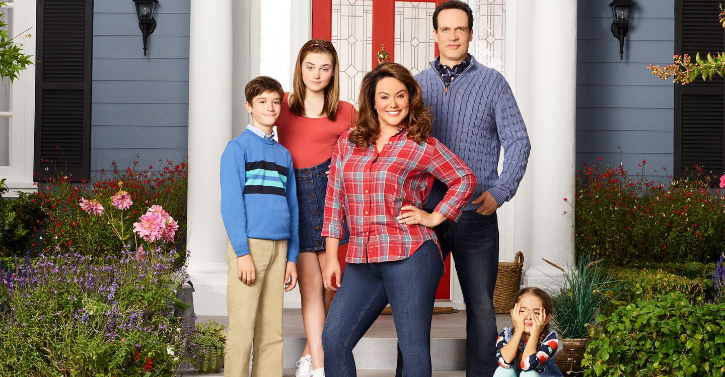 American Housewife backdrop 1