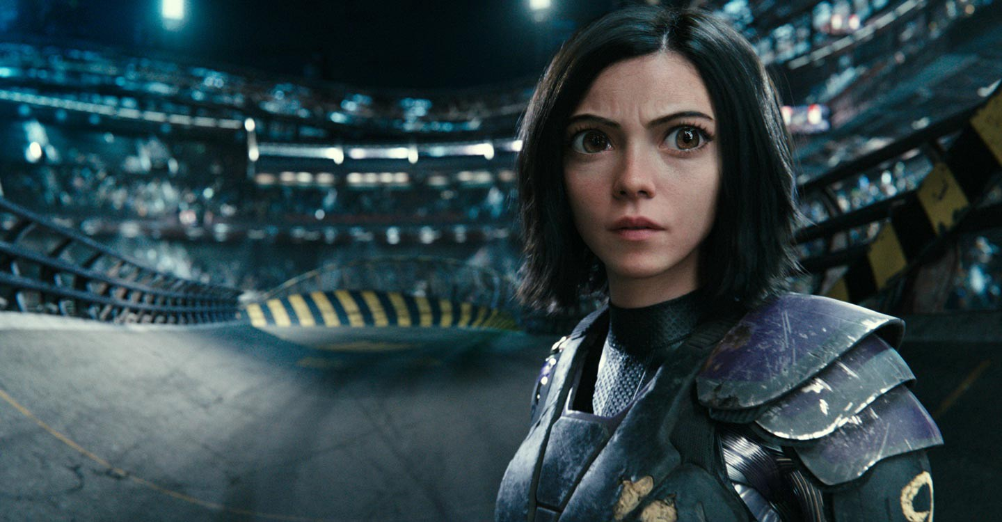 Alita: Battle Angel backdrop 1