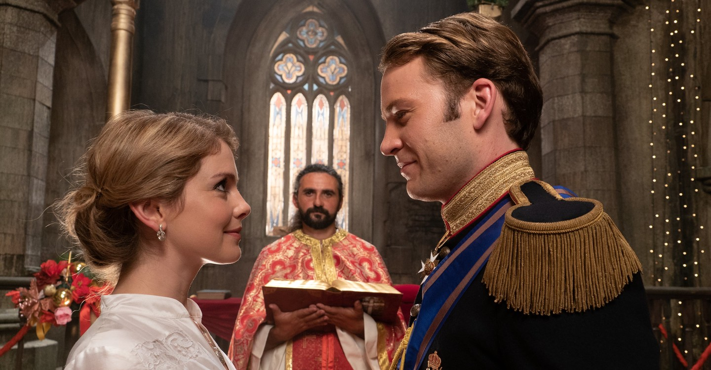 A Christmas Prince : The Royal Wedding backdrop 1