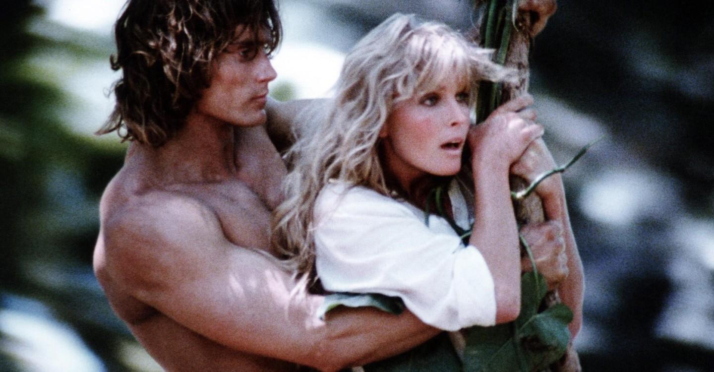 Tarzan, the Ape Man backdrop 1
