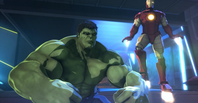 Iron Man & Hulk: Heroes United backdrop 1