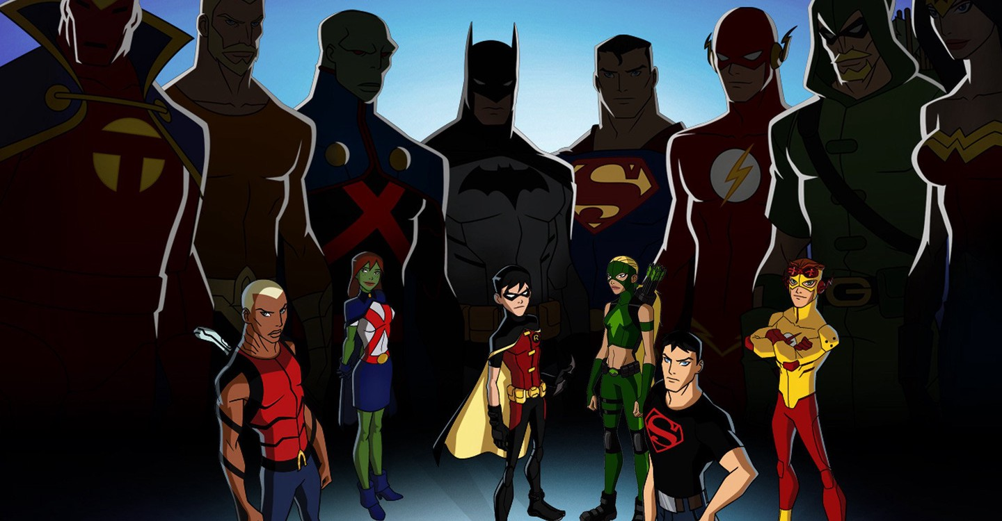 Young Justice backdrop 1