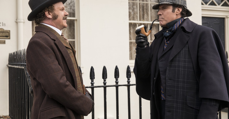 Holmes & Watson backdrop 1