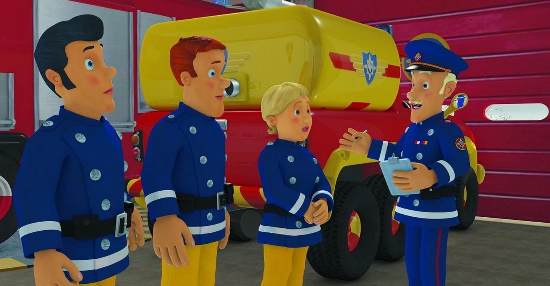 Feuerwehrmann Sam - Helden im Sturm backdrop 1