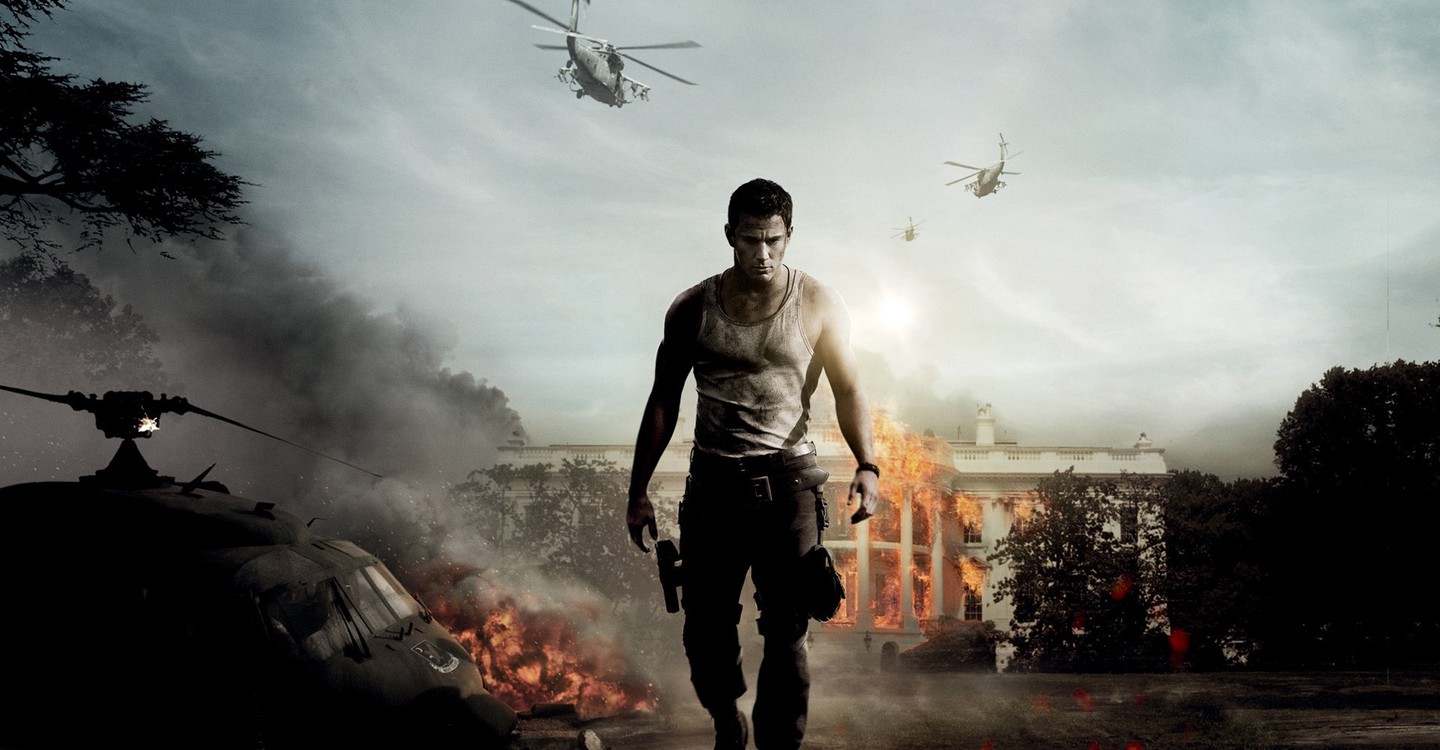 White House Down backdrop 1