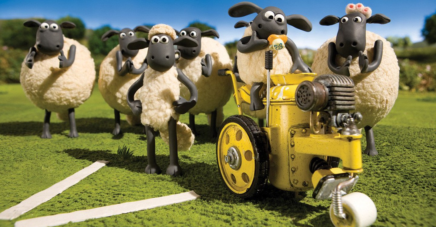 Shaun the Sheep backdrop 1