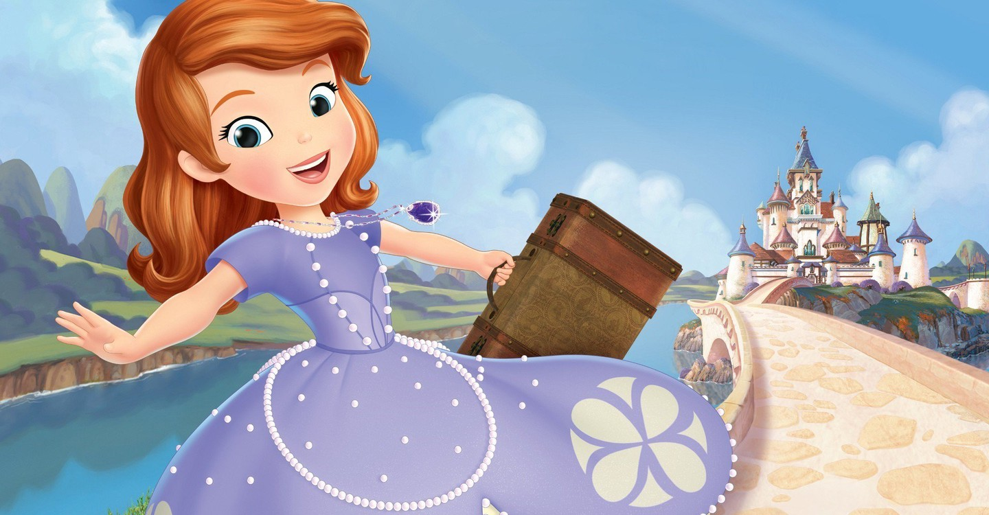 Sofia the First backdrop 1