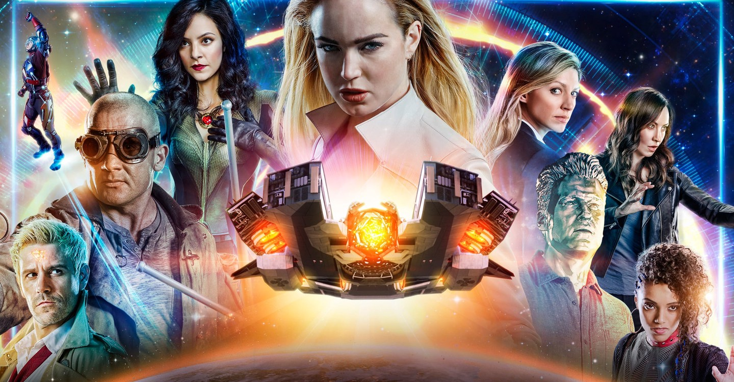 DC's Legends of Tomorrow backdrop 1