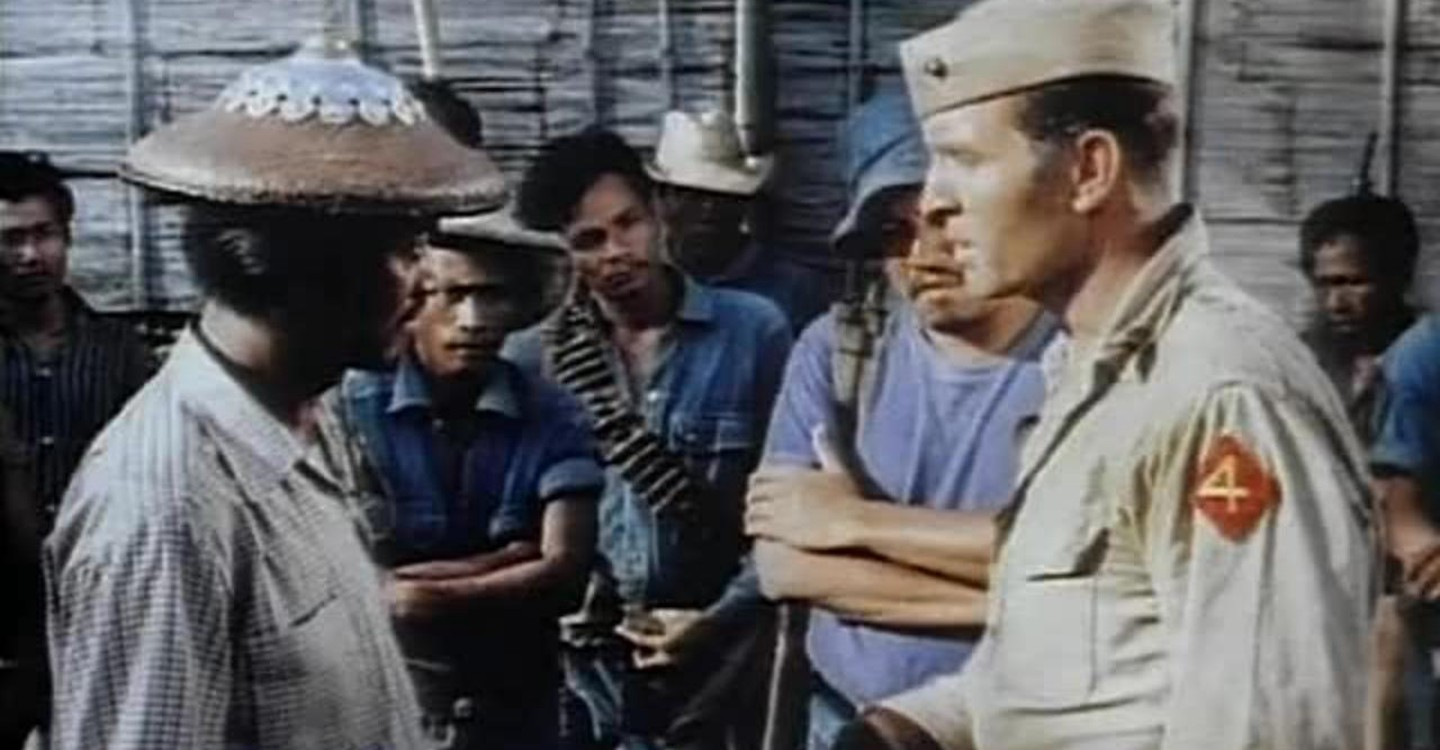 War Movie : The Steel Claw (1961)